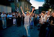 Kraków, 2009-07-04. Koncert 'Szalom na Szerokiej', 19. Festiwal Kultury Żydowskiej w Krakowie