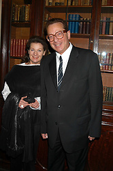 LORD & LADY SAATCHI at the Tatler Summer Party in association with Moschino at Home House, 20 Portman Square, London W1 on 29th June 2005.<br /><br />NON EXCLUSIVE - WORLD RIGHTS
