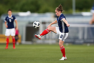 Kim Little (#8) of Scotland controls the ball during the FIFA Women's World Cup UEFA Qualifier match between Scotland Women and Belarus Women at Falkirk Stadium, Falkirk, Scotland on 7 June 2018. Picture by Craig Doyle.