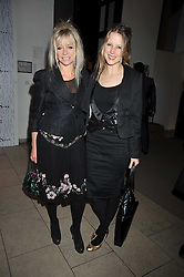 Left to right, JO WOOD and TILLY WOOD at the MAC Salutes party paying tribute to renowned makeup artists held at The Hosptal, Endell Street, London on 22nd February 2009.