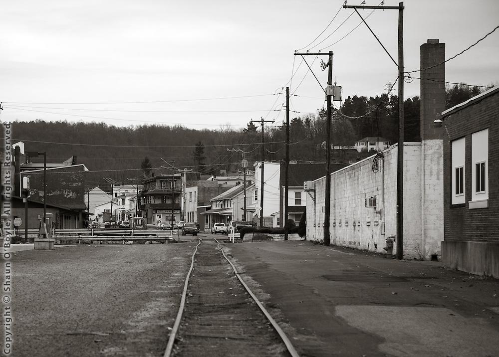 Rail Line, Shamokin, PA