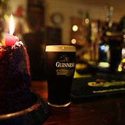A pint of Guinness on a bar in Kenmare, Country Kerry, Ireland. Photo Tim Clayton