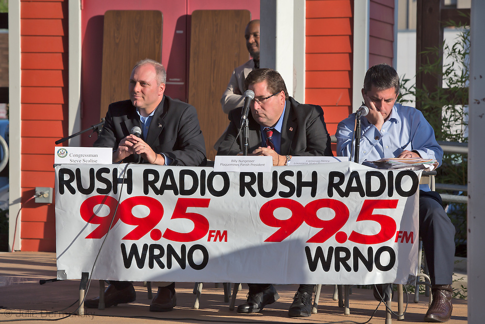 May 15th, Rush Radio Town Hall meeting  at the Covington Trail Head  featuring Congressman Steve Scalise where fracking in St. Tammany Parish was the main topic of the day.