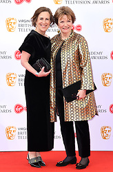 Kirsty Wark and Joan Bakewell attending the Virgin Media BAFTA TV awards, held at the Royal Festival Hall in London. Photo credit should read: Doug Peters/EMPICS