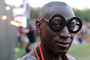 August 23, 2015- Brooklyn, NY-United States:  Model/Media Personality ManChild attends the 2015 AFROPUNK Festival on August 23, 2015 held at Commodore Barry Park in Brooklyn, New York City.  AFROPUNK is an influential community of young, gifted people of all backgrounds who speak through music, art, film, comedy, fashion and more. Originating with the 2003 documentary that highlighted a Black presence in the American punk scene, it is a platform for the alternative and experimental.  (Terrence Jennings/terrencejennigs.com)