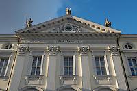 21 JAN 2004, BERLIN/GERMANY:<br /> Eingangsportal Schloss Bellevue<br /> IMAGE: 20040121-02-006<br /> KEYWORDS: Schloß Bellevue, Eingang