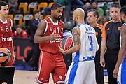 DESCRIZIONE : Eurolega Euroleague 2015/16 Group D Dinamo Banco di Sardegna Sassari - Brose Basket Bamberg<br /> GIOCATORE : Bradley Wanamaker David Logan<br /> CATEGORIA : Fair Play Before Pregame<br /> EVENTO : Eurolega Euroleague 2015/2016<br /> GARA : Dinamo Banco di Sardegna Sassari - Brose Basket Bamberg<br /> DATA : 13/11/2015<br /> SPORT : Pallacanestro <br /> AUTORE : Agenzia Ciamillo-Castoria/L.Canu