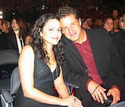 Norah Jones & boyfriend.2003 Grammy Show Audience.Madison Square Garden.Sunday, February 23, 2003..New York, NY, USA.Photo By Celebrityvibe.com/Photovibe.com..