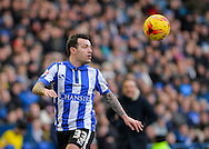 Sheffield Wednesday Midfielder Ross Wallace during the Sky Bet Championship match between Sheffield Wednesday and Leeds United at Hillsborough, Sheffield, England on 16 January 2016. Photo by Adam Rivers.