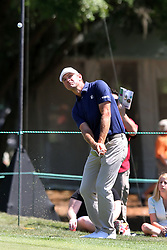 March 23, 2019 - Palm Harbor, FL, U.S. - PALM HARBOR, FL - MARCH 23: Lucas Glover chips up to inches of the cup on the 5th hole during the third round of the Valspar Championship on March 23, 2019, at Westin Innisbrook-Copperhead Course in Palm Harbor, FL. (Photo by Cliff Welch/Icon Sportswire) (Credit Image: © Cliff Welch/Icon SMI via ZUMA Press)