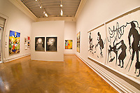 """Twienth Century Abstraction & Nature, """"American Evolution"""" exhibition, Corcoran Gallery of Art, Washington D.C., U.S.A."""