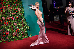 Rita Ora attending the Evening Standard Theatre Awards 2018 at the Theatre Royal, Drury Lane in Covent Garden, London. EDITORIAL USE ONLY. Picture date: Sunday November 18th, 2018. Photo credit should read: Matt Crossick/ EMPICS Entertainment.