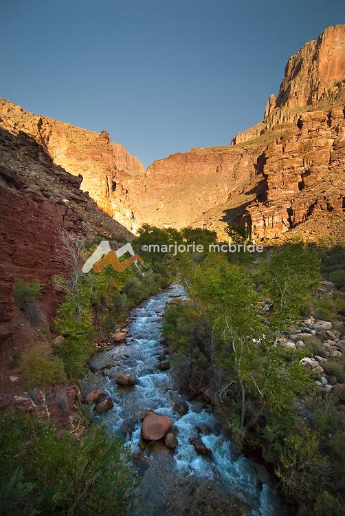 Tapeats Creek during autumn in Grand Canyon National Park, Arizona.