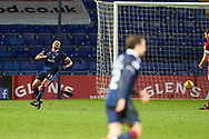 Jermaine Hylton celebrates no 4 for Ross County during the Scottish Premiership match between Ross County FC and Aberdeen FC at the Global Energy Stadium, Dingwall, Scotland on 16 January 2021.