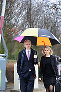 WikiLeaks founder Julian Assange arrives with his lawyer Jennifer Robinson for the final day of his extradition hearing at Belmarsh Magistrates' Court in London