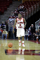 "09 January 2007: Keith ""Boo"" Richardson. The Illinois State Redbirds, winless in the Missouri Valley Conference, knocked off the undefeated  Panthers of Northern Iowa 67-64 in overtime at Redbird Arena in Normal Illinois on the campus of Illinois State University.<br />"