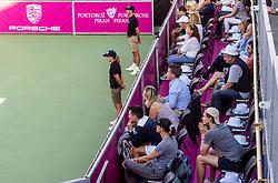 PORTOROZ, SLOVENIA - SEPTEMBER 18:  Supporters  during the WTA 250 Zavarovalnica Sava Portoroz at SRC Marina, on September 18, 2021 in Portoroz / Portorose, Slovenia. Photo by Vid Ponikvar / Sportida