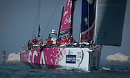 The Artemis Challenge at Aberdeen Asset Management Cowes Week 2014. <br /> Team SCA - skippered by Sam Davies (GBR)<br /> FREE for editorial use. Credit: Lloyd Images