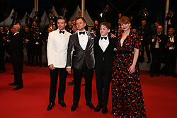 Richard Madden, Taron Egerton, Kit Connor and Bryce Dallas Howard depart from the screening of Rocket Man during the 72nd annual Cannes Film Festival on May 16, 2019 in Cannes, France. Photo by Shootpix/ABACAPRESS.COM