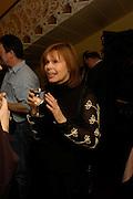 Mrs. Ian McEwan. Book party for Saturday by Ian McEwan, Polish Club, South Kensington.  4 February 2005. ONE TIME USE ONLY - DO NOT ARCHIVE  © Copyright Photograph by Dafydd Jones 66 Stockwell Park Rd. London SW9 0DA Tel 020 7733 0108 www.dafjones.com