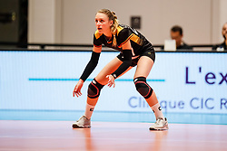 16.05.2019, Montreux, SUI, Montreux Volley Masters 2019, Deutschland vs Polen, im Bild Elisa Lohmann (Germany #27) // during the Montreux Volley Masters match between Germany and Poland in Montreux, Switzerland on 2019/05/16. EXPA Pictures © 2019, PhotoCredit: EXPA/ Eibner-Pressefoto/ beautiful sports/Schiller<br /> <br /> *****ATTENTION - OUT of GER*****