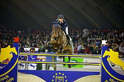 Lund Tina (DEN) - Zamiro<br /> CSI-W Mechelen 2008<br /> Photo © Dirk Caremans