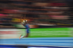 March 4, 2018 - Birmingham, England, United Kingdom - Brittney Reese ofUnited States at long jump at World indoor Athletics Championship 2018, Birmingham, England on March 4, 2018. (Credit Image: © Ulrik Pedersen/NurPhoto via ZUMA Press)