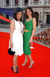Left to right, DANIELLA HELAYEL and  at the Royal Academy of Art's SUmmer Party following the official opening of the Summer Exhibition held at the Royal Academy of Art, Burlington House, Piccadilly, London W1 on 7th June 2006.<br />