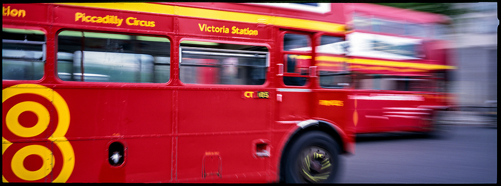 Piccadilly 8 Bus, London, England, May, 1999