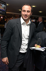Footballer RAMON VEGA at a sales event for the exclusive Chelsea Bridge Wharf in aid of CLIC Sargeant cancer charity held at Stamford Bridge football stadium, Chelsea, London on 7th February 2006.<br /><br />NON EXCLUSIVE - WORLD RIGHTS
