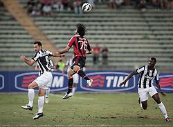 Bari (BA) 21.07.2012 - Trofeo Tim 2012. Juventus - Milan. Nella Foto: Yepes (M) Vucinic (J) e Boakye (J)