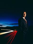 Alex Trotman, CEO of Ford.