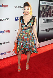 """""""Chappaquiddick"""" Premiere at The Samuel Goldwyn Theatre in Beverly Hills, California on 3/28/18. 28 Mar 2018 Pictured: Blanca Blanco. Photo credit: River / MEGA TheMegaAgency.com +1 888 505 6342"""