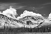 Snowscape photographs Haines Highway AK & YT