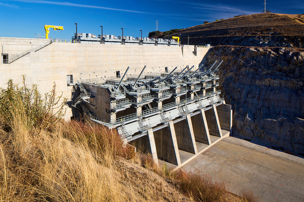 Folsom Spillway Ph.3 Images Public Infrastructure- Architectural Photography Example of Chip Allen's work.