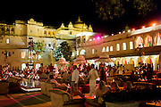 Banquet of Maharana of Mewar, His Highness, Shriji Arvind Singh Mewar of Udaipur, at City Palace, Udaipur, Rajasthan India