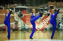 Rising Stars, UK at European Cheerleading Championship 2008, on July 5, 2008, in Arena Tivoli, Ljubljana, Slovenia. (Photo by Vid Ponikvar / Sportal Images).