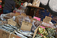 Outside stall in Chinatown, New york, USA