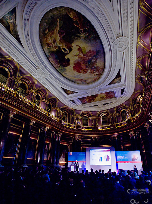 Business Monitor International conference held at Drapers Hall, London.