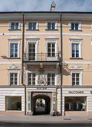 Villa Palais Trapp, Maria-Theresien-Strasse in Innsbruck, Austria,