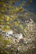 Town of Trevelez in Spain