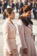 022317 Spanish Royals attends the Official Reception to Mauricio Macri and Juliana Awada