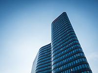 ÖBB Konzernzentrale (Architekten Zechner & Zechner), Hauptbahnhof Wien neu, Österreich, Wien, Architektur, modern, zeitgenössisch
