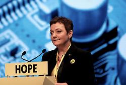 SNP Spring Conference, Saturday 27th April 2019<br /> <br /> Pictured: SNP EU candidate Heather Anderson<br /> <br /> Alex Todd | Edinburgh Elite media