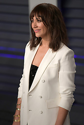 February 24, 2019 - Beverly Hills, California, U.S - Rashida Jones on the red carpet of the 2019 Vanity Fair Oscar Party held at the Wallis Annenberg Center in Beverly Hills, California on Sunday February 24, 2019. JAVIER ROJAS/PI (Credit Image: © Prensa Internacional via ZUMA Wire)