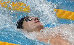 Camille Lacourt of France competes on Men's 50 m Backstroke heat during the 17th FINA World Championships, at Duna Arena, in Budapest, Hungary, Day 16, on July 29, 2017. Photo by Giuliano Bevilacqua/ABACAPRESS.COM