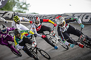 #593 (CAMPO Alfredo) ECU at Round 6 of the 2019 UCI BMX Supercross World Cup in Saint-Quentin-En-Yvelines, France