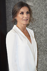 September 18, 2019, Madrid, Madrid, Spain: 18-09-2019 Madrid Queen Letizia visiting the opera ''Don Carlo'' at the start of the opera season 2019-2020 at the Real theater in Madrid. (Credit Image: © face to face via ZUMA Press)