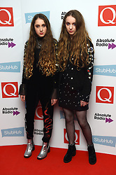 Let's Eat Grandma attending the Q Awards, at the Roundhouse in Camden, London. Picture date: Tuesday November 2, 2016. Photo credit should read: Matt Crossick/ EMPICS Entertainment.