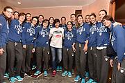 DESCRIZIONE : Lucca Miss Italia Alice Sabatini in ritiro con la Nazionale Femminile Senior<br /> GIOCATORE : Alice Sabatini team<br /> CATEGORIA : allenamento<br /> SQUADRA : Nazionale Femminile Senior<br /> EVENTO : Miss Italia Alice Sabatini in ritiro con la Nazionale Femminile Senior<br /> GARA : Miss Italia Alice Sabatini in ritiro con la Nazionale Femminile Senior<br /> DATA : 20/11/2015<br /> SPORT : Pallacanestro<br /> AUTORE : Agenzia Ciamillo-Castoria/Max.Ceretti<br /> GALLERIA : Nazionale Femminile Senior<br /> FOTONOTIZIA : Lucca Miss Italia Alice Sabatini in ritiro con la Nazionale Femminile Senior<br /> PREDEFINITA :